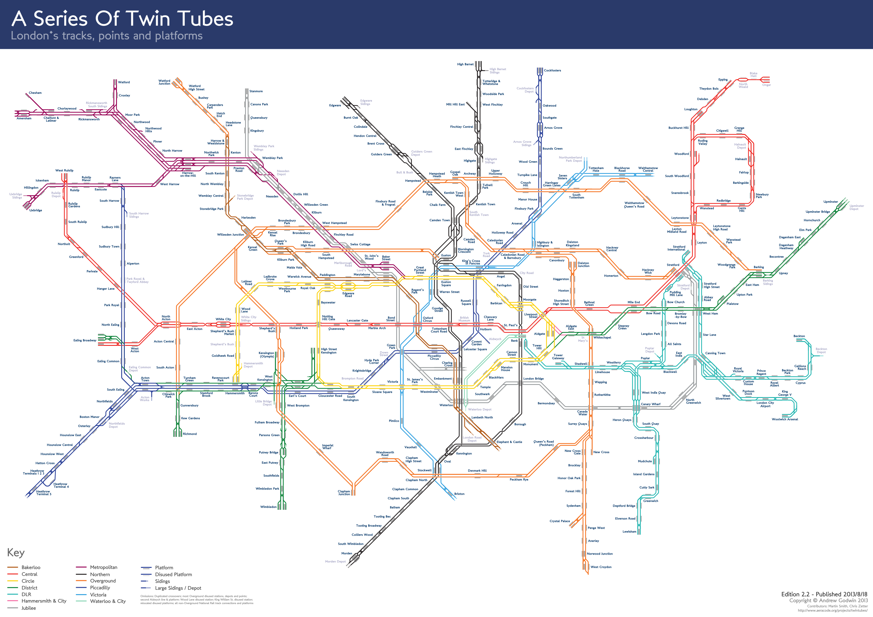 A Guide To Alternative London Tube Maps Londonist